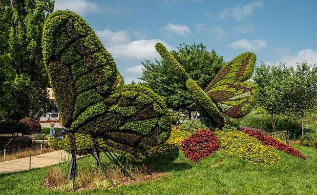 4-Monumental-Plant-Sculptures-Mosaiculture-Exhibition-butterflies