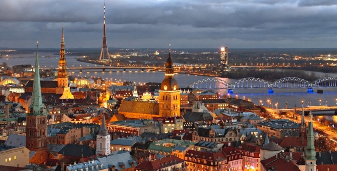 Riga-city-overview